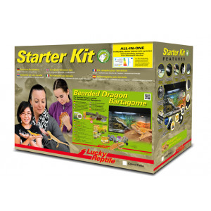 Lucky Reptile Starter Kit Bearded Dragon 80x40x52 cm bílé