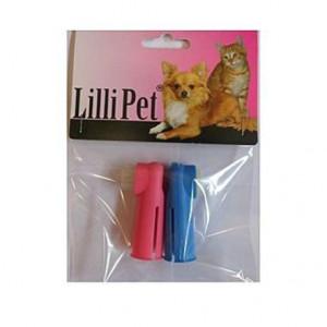 Kartáček zubní na prst Single 2 ks - pár Lill