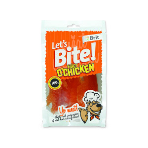 Snack BRIT Dog Lets Bite Fillet o`Chicken 80g