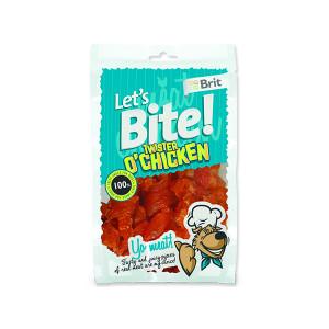 Snack BRIT Dog Lets Bite Twister o`Chicken 80g