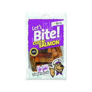 Snack BRIT Dog Lets Bite Cod`n`Salmon 80g