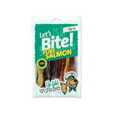 Snack BRIT Dog Let's Bite Pure Salmon 80g