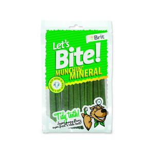 Snack BRIT Dog Lets Bite Munchin` Mineral 105g