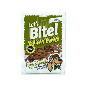Snack BRIT Dog Lets Bite Bounty Bones 150g