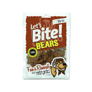 Snack BRIT Dog Lets Bite Bears 150g