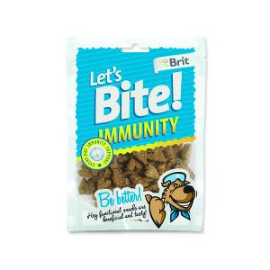 Snack BRIT Dog Lets Bite Immunity 150g
