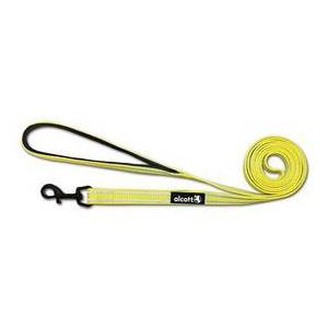 Vodítko Alcott reflexní neon žlutá L 183 cm/24 mm