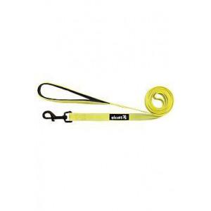 Vodítko Alcott reflexní neon žlutá M 183 cm/20 mm