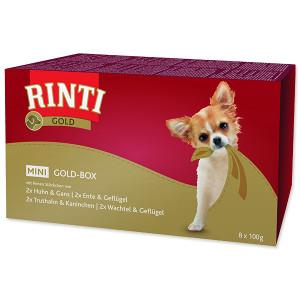 Vaničky RINTI Gold Mini multipack 4 x 2 x 100 g 800g