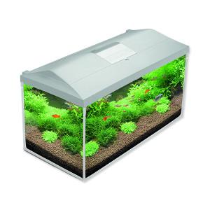 Akvárium set AQUAEL LEDDY PLUS LED 80 bílé 105l