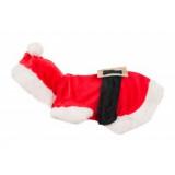 Flamingo Vánoční kostým Santa pro psy 40cm