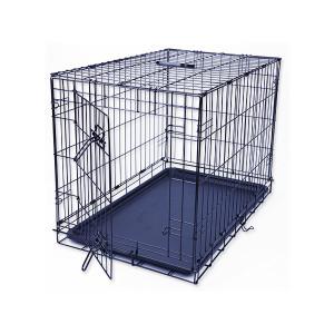 Klec DOG FANTASY skládací černá M - 1 dveře 1ks