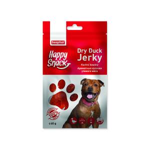 Pochoutka BEAPHAR Happy Snack Dog kachní kousky 60g