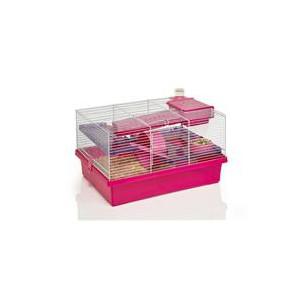 Klec hlodavec křeček Pico růžová/fialová RW 50 x 36 x 31 cm