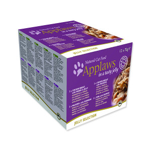 Konzervy APPLAWS Jelly selection multipack 12 x 70 g 840g