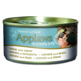 Konzerva APPLAWS Cat Jelly Sardine with Shrimp 70g