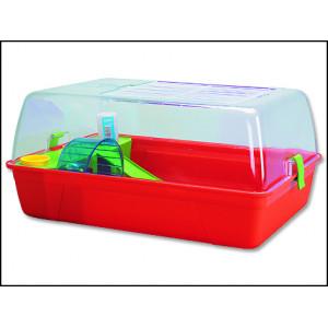 Box SAVIC Rody Hamster červený 55 cm 1ks