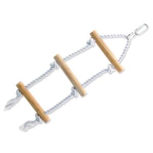 Žebřík BIRD JEWEL provazový + dřevěné příčky 40 cm 1ks