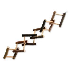 Hračka BIRD JEWEL dřevěná proplétaná 55 cm 1ks