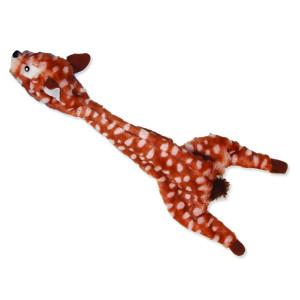 Hračka DOG FANTASY Skinneeez jelen 35 cm 1ks