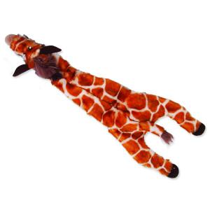Hračka DOG FANTASY Skinneeez žirafa 35 cm 1ks