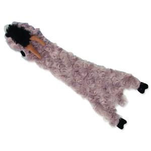 Hračka DOG FANTASY Skinneeez šustící koza 35 cm 1ks