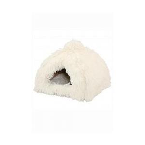 Pelech Domek Igloo Yetti bílý 40x40x36 cm