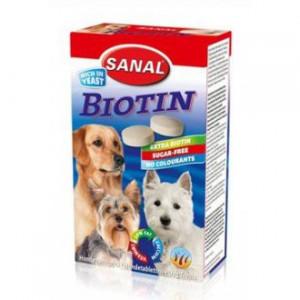 Sanal pes Biotin kalciové tablety s biotin 400g/4x100g