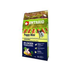 ONTARIO Puppy Mini Chicken & Potatoes & Herbs 6,5kg