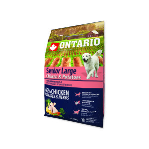 ONTARIO Senior Large Chicken & Potatoes & Herbs 2,25kg