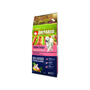 ONTARIO Senior Large Chicken & Potatoes & Herbs 12kg + doprava zdarma