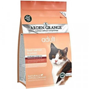 Arden Grange Cat Adult Salmon&Potato 4 kg