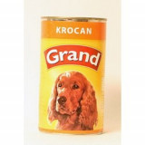 GRAND konzerva pes krocaní 1300 g
