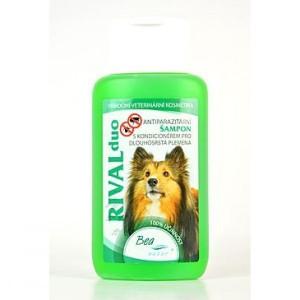 Šampon Bea Rival DUO pro psy ,dlouhá srst 220 ml