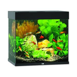 Akvárium set JUWEL Lido LED 120 černé 120l