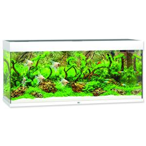Akvárium set JUWEL Rio LED 240 bílé 240l