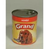 GRAND konzerva pes hovězí 850 g