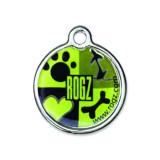 Známka ROGZ Metal Lime Juice kovová L 1ks