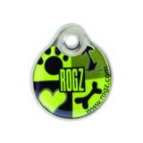 Známka ROGZ ID Tagz Lime Juice L 1ks