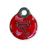 Známka ROGZ ID Tagz Red Bone S