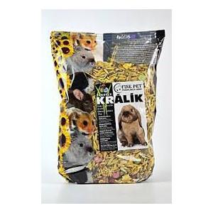 FINE PET Zakrslý králík premium 800 g