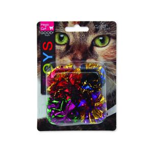 Hračka MAGIC CAT míček lesklý 3,75 cm 4ks