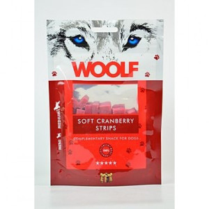WOOLF pochoutka Soft Cranberry Strips 100 g