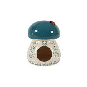 Domek pro hlodavce Houba modrá 11x11x14 cm Zolux