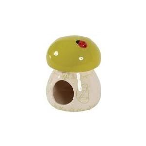 Domek pro hlodavce Houba zelená 11x11x14 cm Zolux