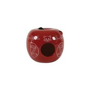 Domek pro hlodavce Jablko červené 13x13x11 cm Zolux