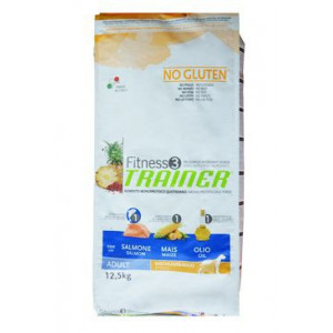 Trainer Fitness Adult M/M No Gluten Salmon Maize12,5 kg