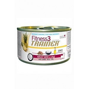 Trainer konzerva Fitness Adult Mini Lamb Rice 150 g