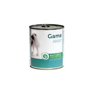 Nature's Protection Dog konzerva Adult zvěřina 400 g