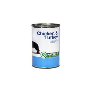 Nature's Protection Dog konzerva Adult kuře/krůta 400 g